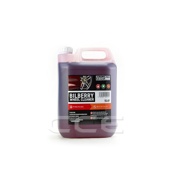 Valet Pro Bilberry Wheel Cleaner | Limpiallantas 5L