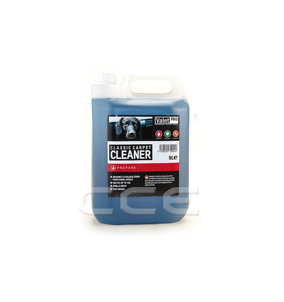 Valet Pro Classic Carpet Cleaner | Limpia Tapicerías y Tejidos 5L