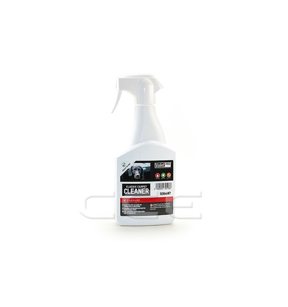 Valet Pro Classic Carpet Cleaner | Limpia Tapicerías y Tejidos 500ml