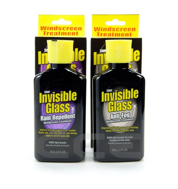 Kit Stoner Invisible Glass - Antivaho + Repelente de Agua