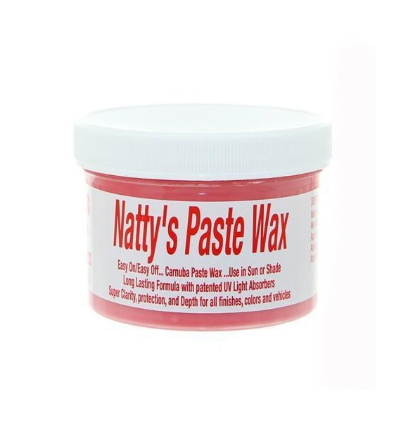 Poorboys Nattys Paste Wax - Roja