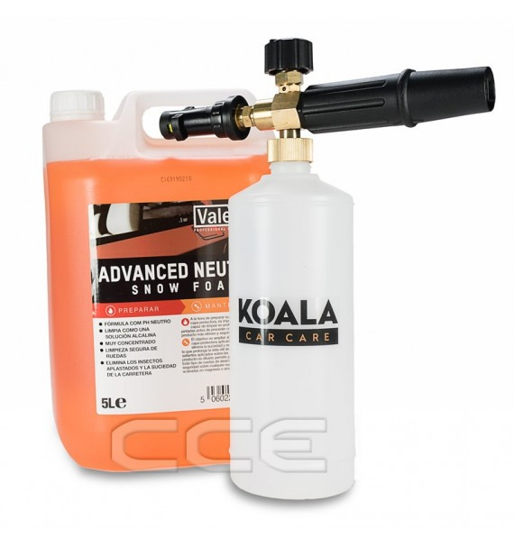kit Foam Lance + Snow Foam 5L