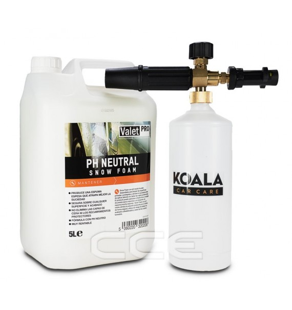 Kit Foam Lance + Neutral Snow Foam 5L