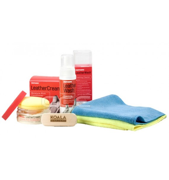 Mothers Kit Wash & Cream para cuero