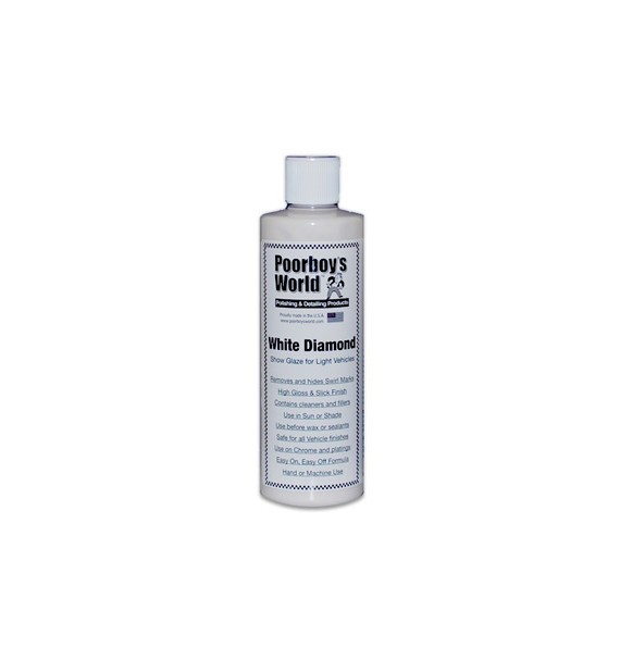 Poorboys White Diamond Show Glaze (Colores Claros)