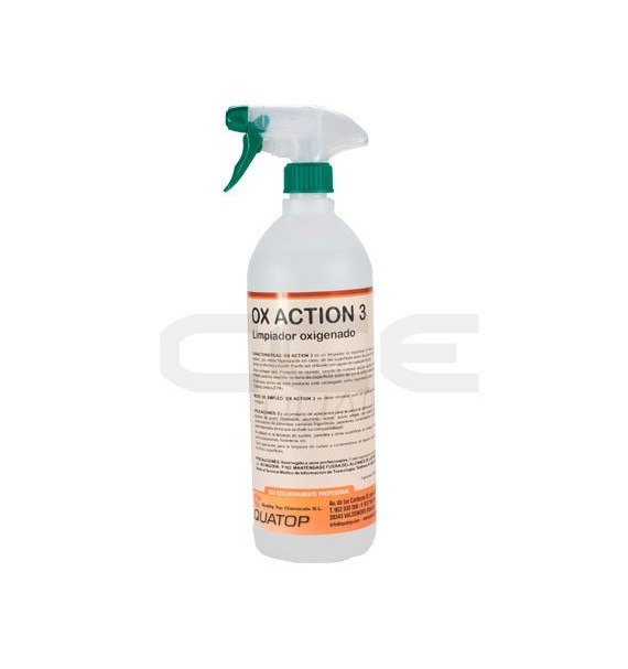 Ox Action 3 - Higienizante Oxigenado 1L