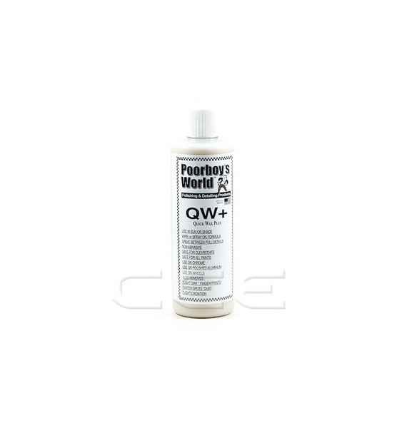Poorboys QW+ Quik Wax Plus - Cera rápida